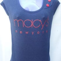 Dark Blue Cotton Top