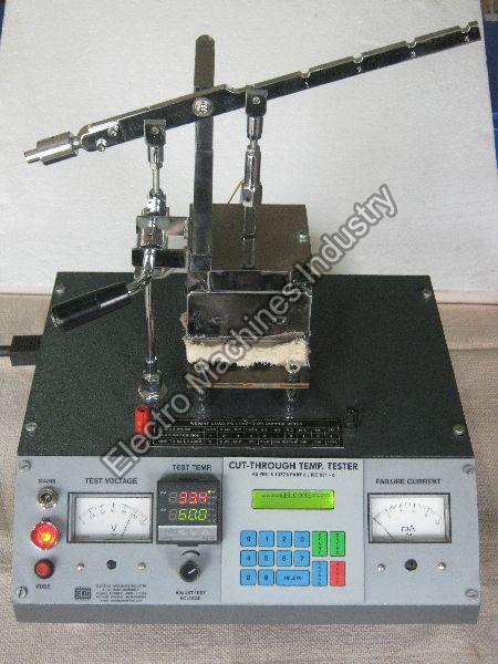 Cut-Through Temperature Tester