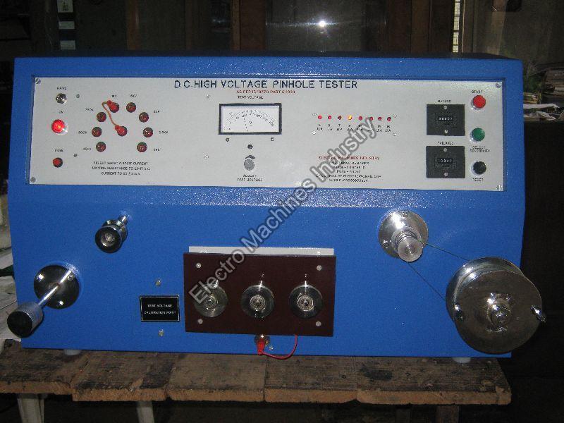 High Voltage Pinhole Tester