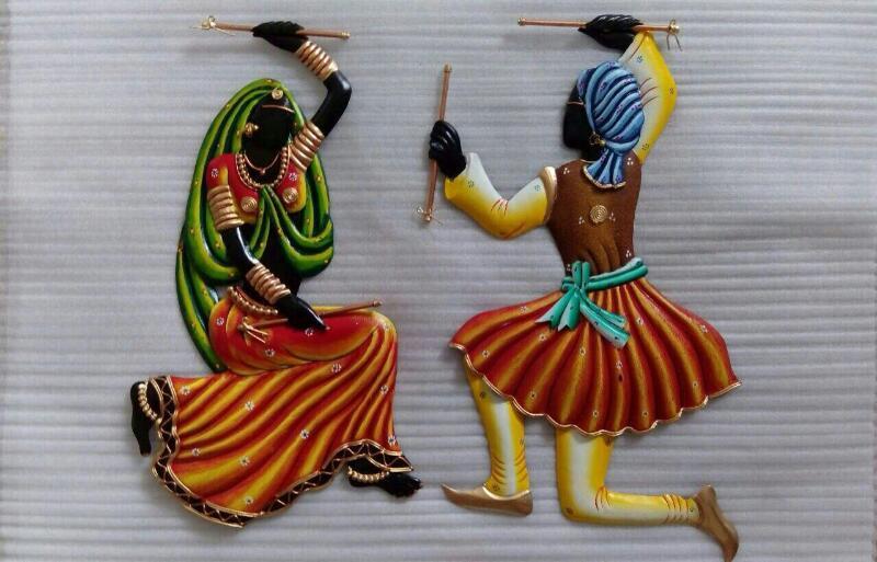 Dancing Couple Wall Hanging