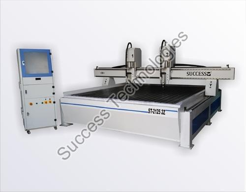 ST-2125 2Z CNC Engraving Router with 2 Spindle