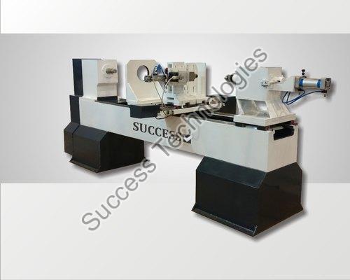 Semi Automatic CNC Wood Lathe Machine