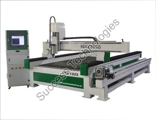 STX-1325 CNC Engraving Router with Rotary Attachment