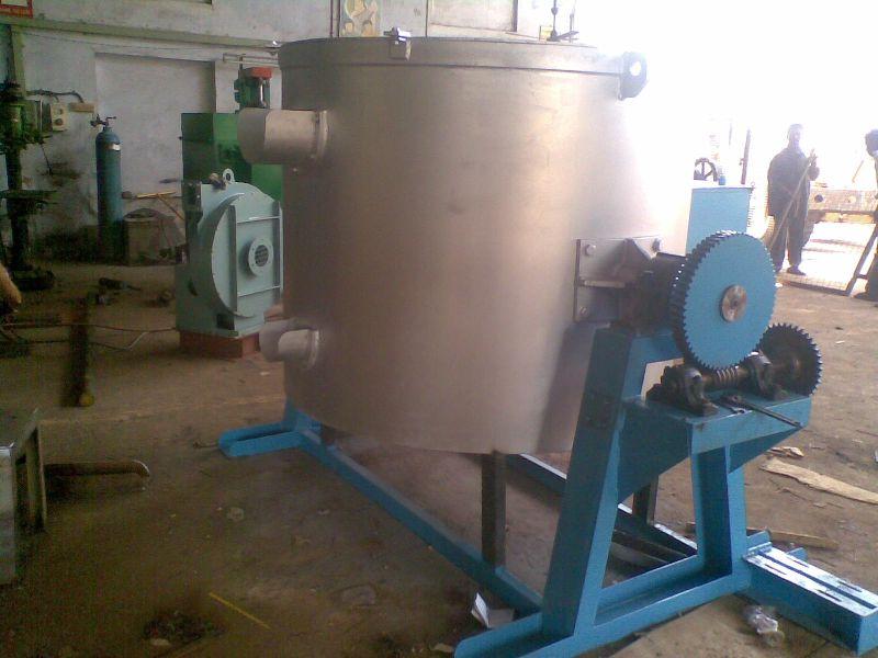 Aluminium Melting and Tilting Furnace