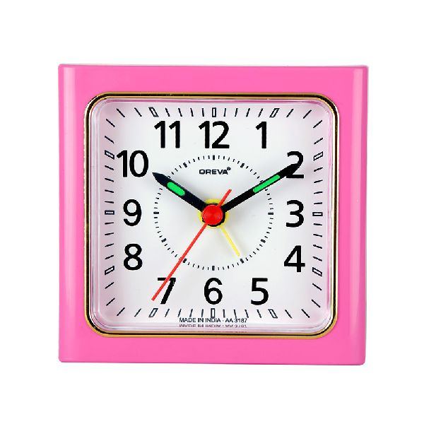 AA-3187 Alarm Analog Clock