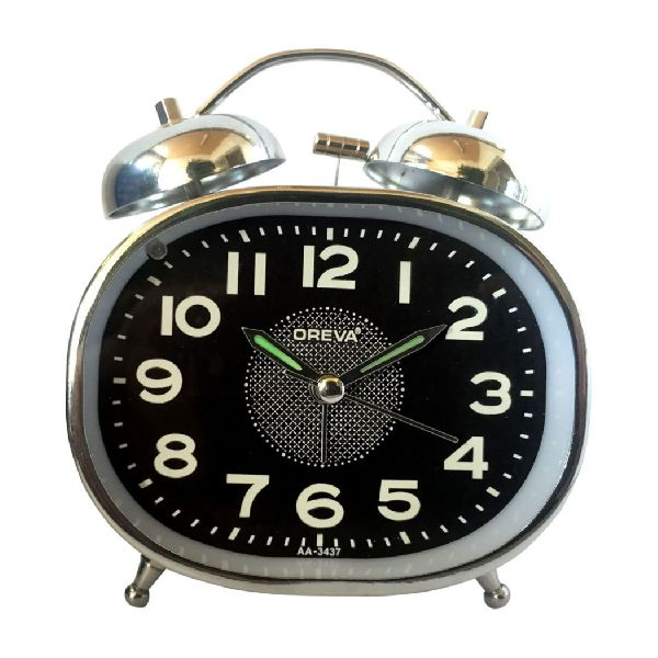 AA-3437 Alarm Analog Clock