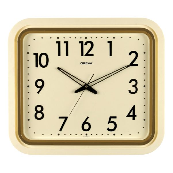 AQ 1507 SS Office Analog Clock