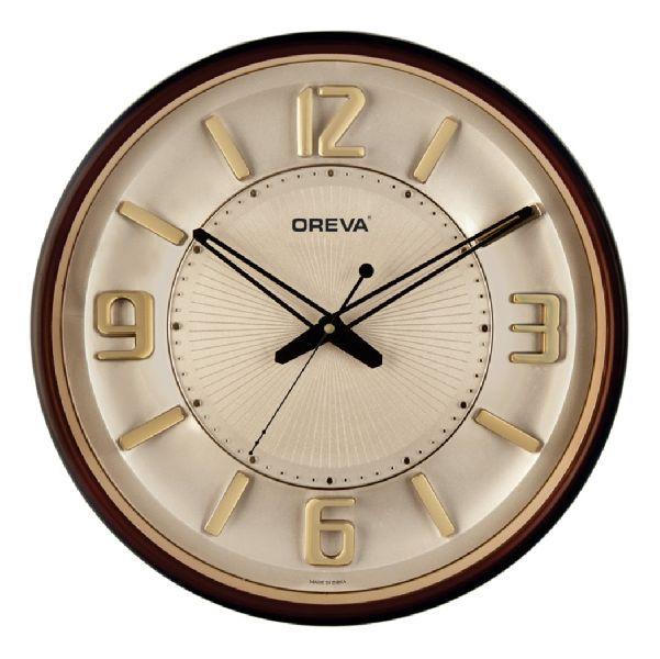 AQ 1597-SS Premium Analog Clock