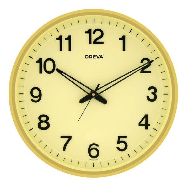 AQ 1687 SS Office Analog Clock