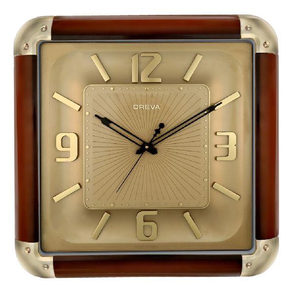 AQ 1727-SS Premium Analog Clock