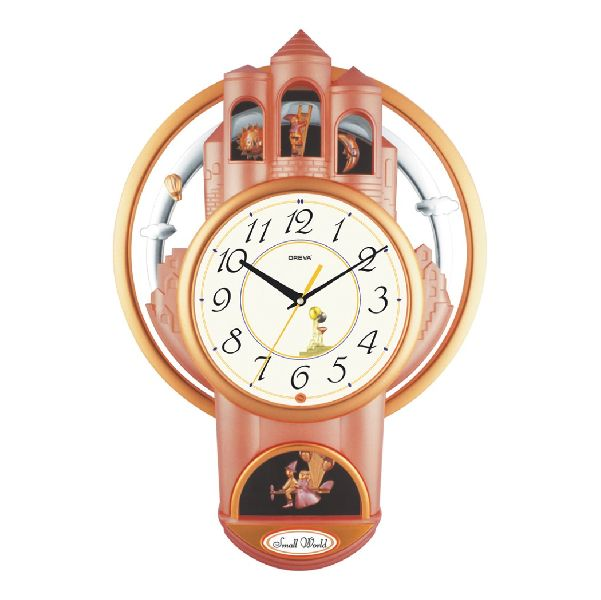 AQ 2037 Musical Analog Clock