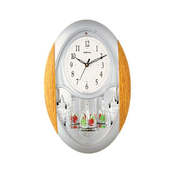 AQ 2047 Musical Analog Clock