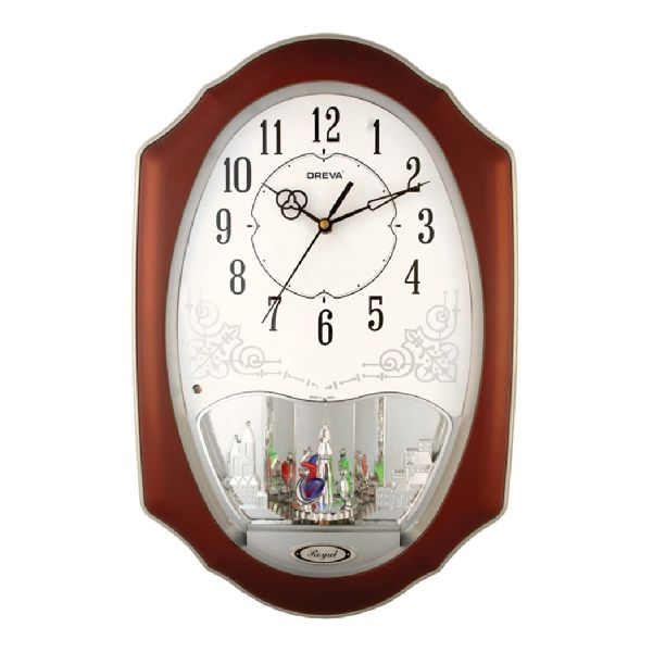 AQ 2057 Musical Analog Clock