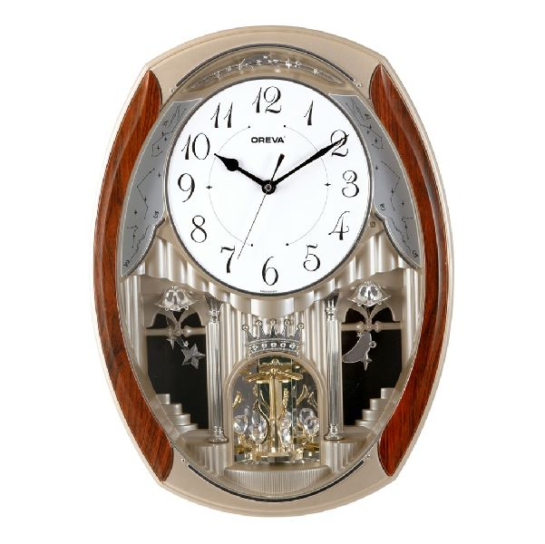 AQ 2167 Musical Analog Clock