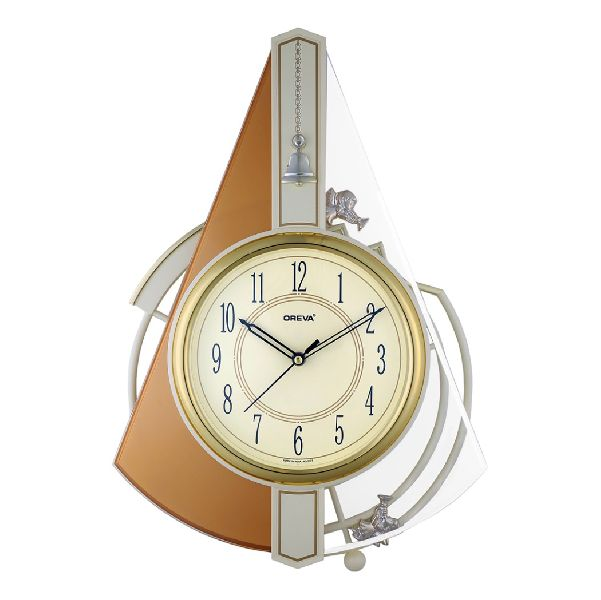 AQ 2177 SS Musical Analog Clock