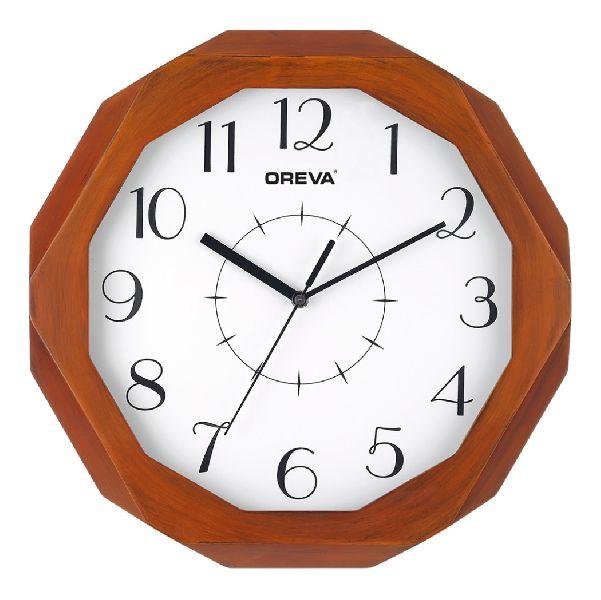 AQ 4207 Wooden Analog Clock