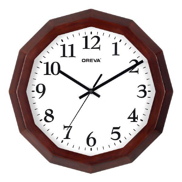 AQ 4217 Wooden Analog Clock