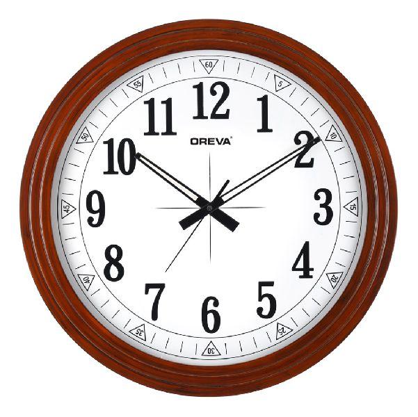 AQ 4227 Wooden Analog Clock