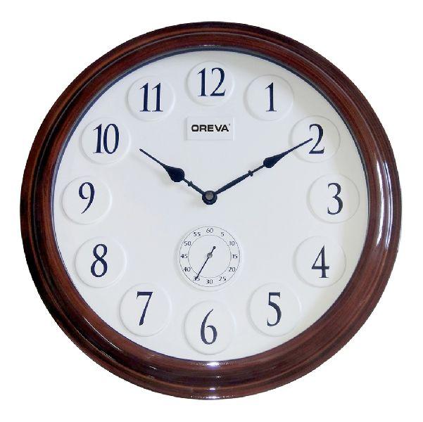 AQ 4257 Wooden Analog Clock