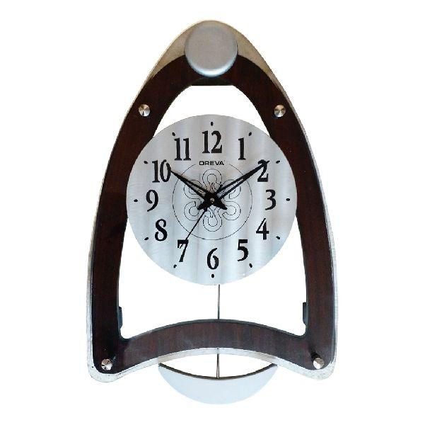 AQ 4277 Wooden Analog Clock