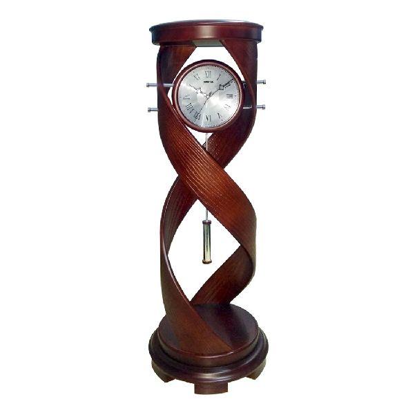 AQ 4287 Wooden Analog Clock