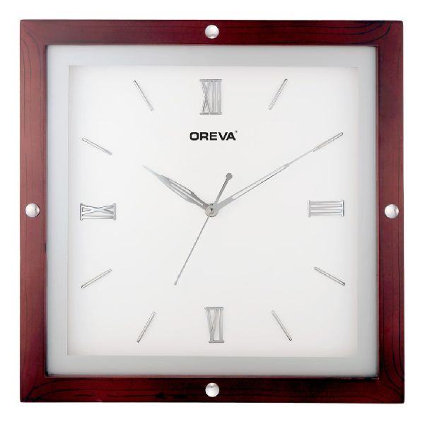 AQ 4297 Wooden Analog Clock