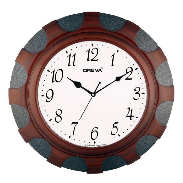 AQ 4327 Wooden Analog Clock