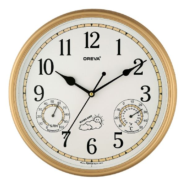 AQ 5477 SS Premium Analog Clock