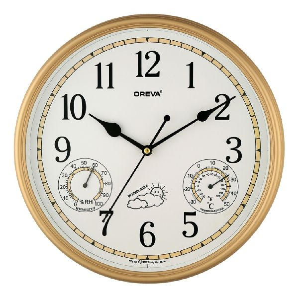 AQ 5567 SS Premium Analog Clock