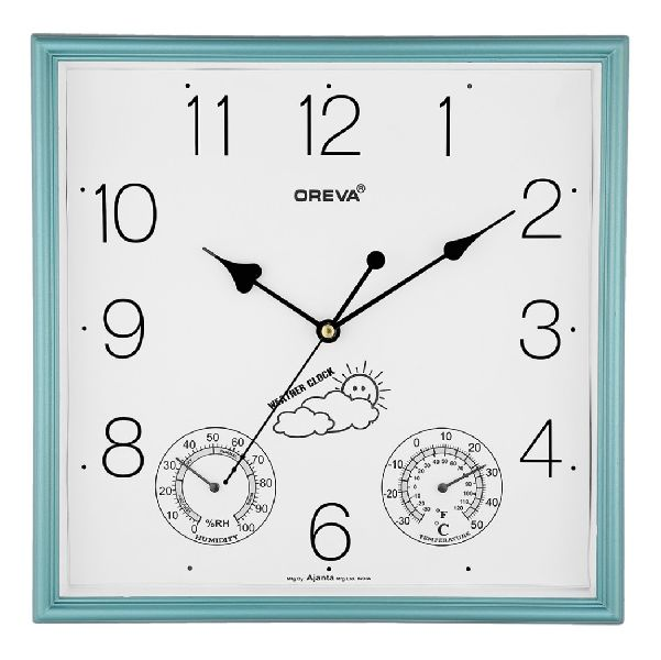 AQ 5597 SS Premium Analog Clock