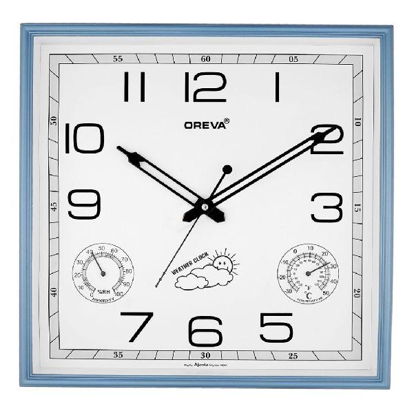 AQ 5657 SS Premium Analog Clock