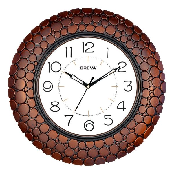 AQ 5727 SS Fancy Analog Clock