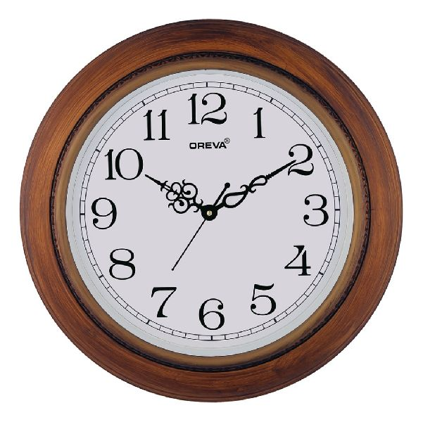 AQ 5767 SS Fancy Analog Clock