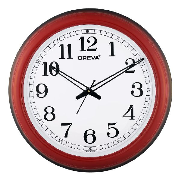 AQ 5857 SS Office Analog Clock