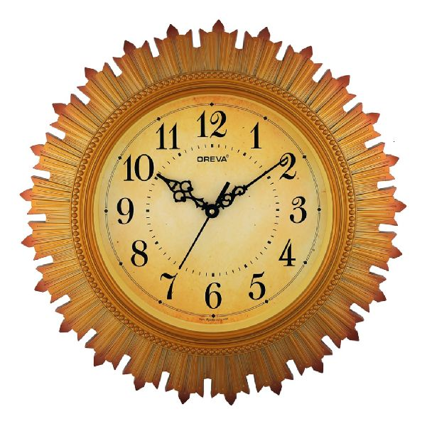 AQ 5877 SS Fancy Analog Clock