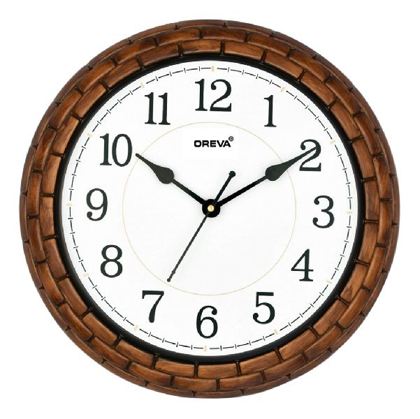 AQ 5947 SS Fancy Analog Clock