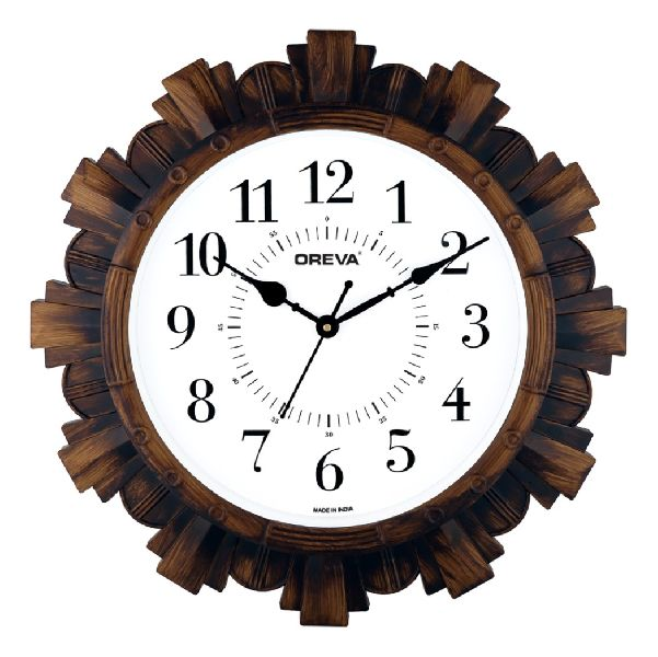 AQ 6027 SS Fancy Analog Clock