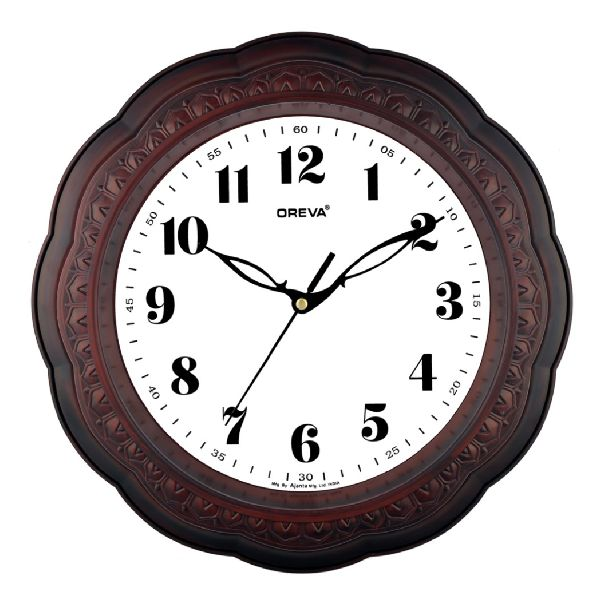 AQ 6077 Fancy Analog Clock