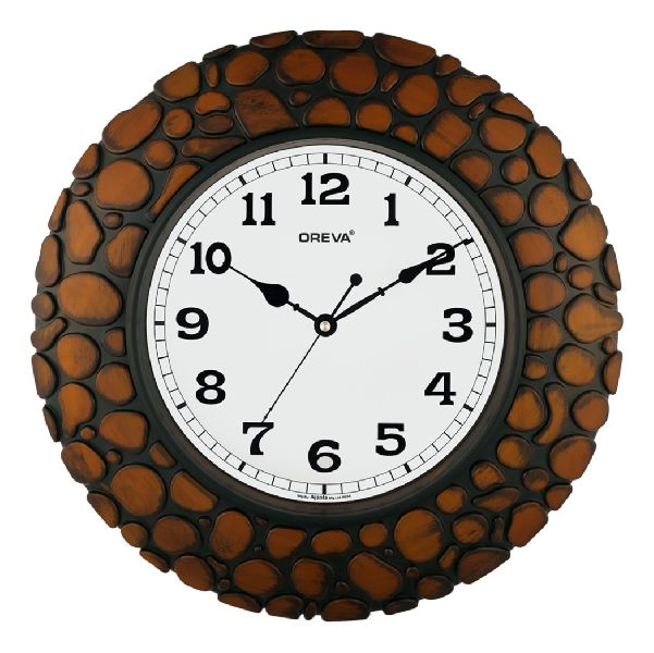 AQ 6097 SS Fancy Analog Clock