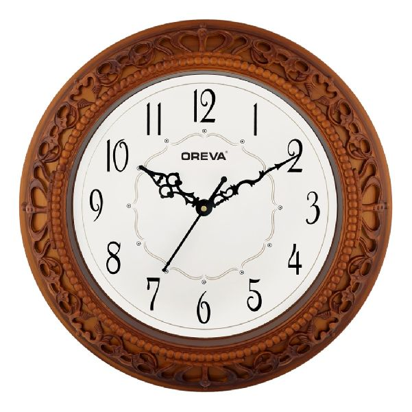 AQ 6107 SS Fancy Analog Clock