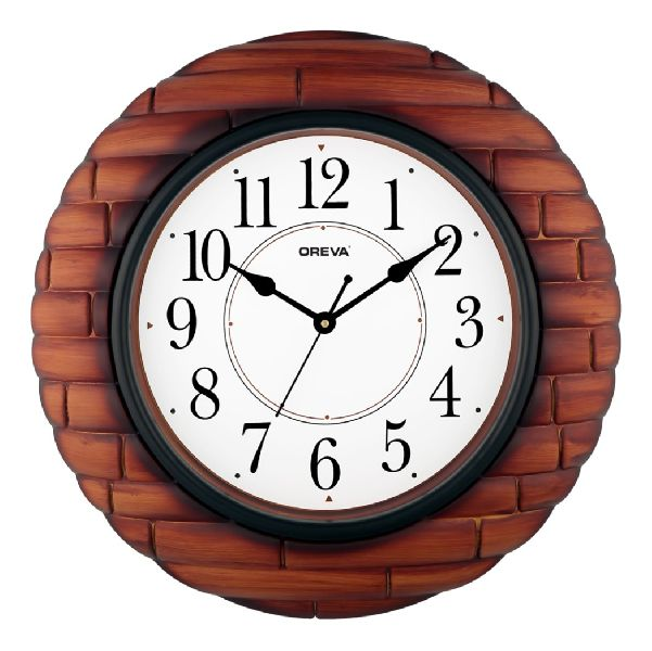 AQ 6177 SS Fancy Analog Clock