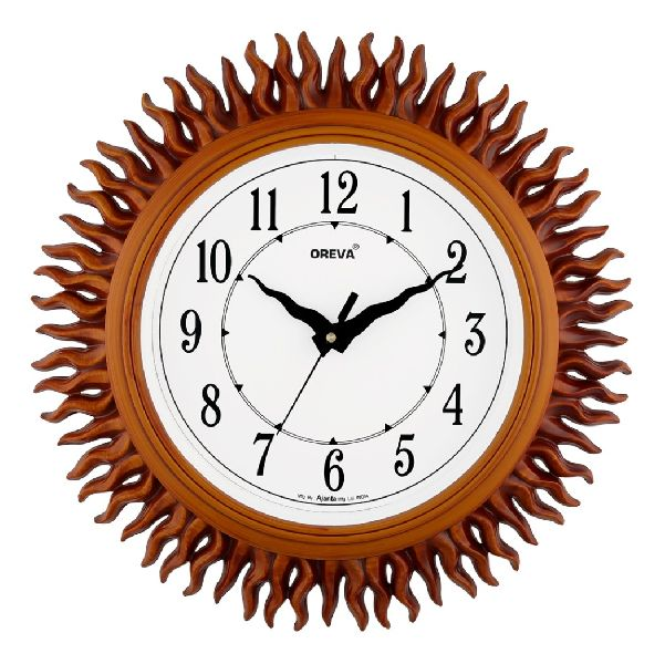AQ 6207 Fancy Analog Clock
