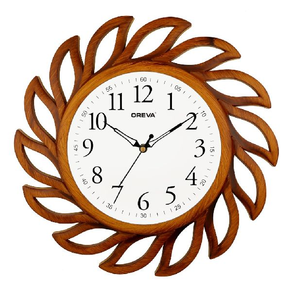 AQ 6287 SS Fancy Analog Clock