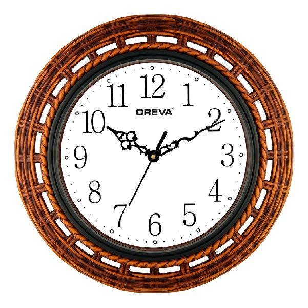 AQ 6297 SS Fancy Analog Clock