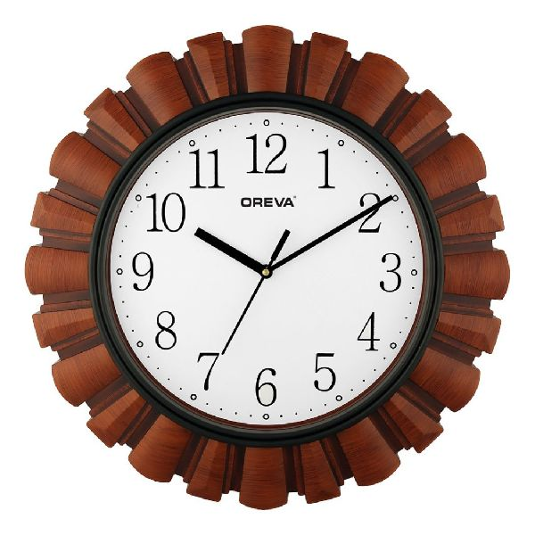 AQ 6317 SS Fancy Analog Clock