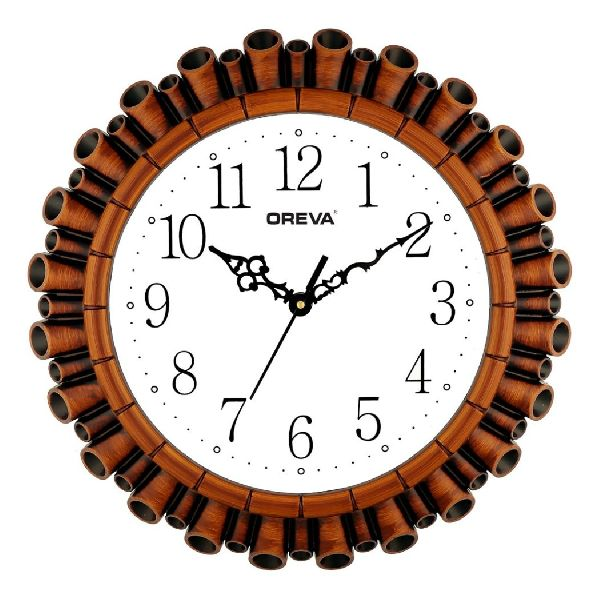 AQ 6327 SS Fancy Analog Clock