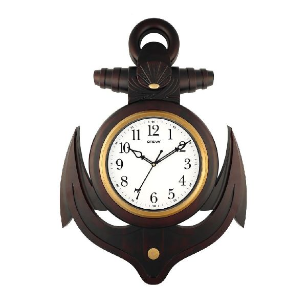 AQ 6357 SS Fancy Analog Clock