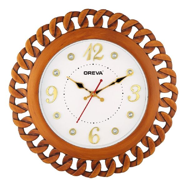 AQ 6427 SS Fancy Analog Clock