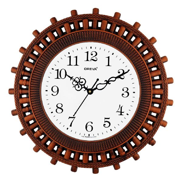 AQ 6447 SS Fancy Analog Clock