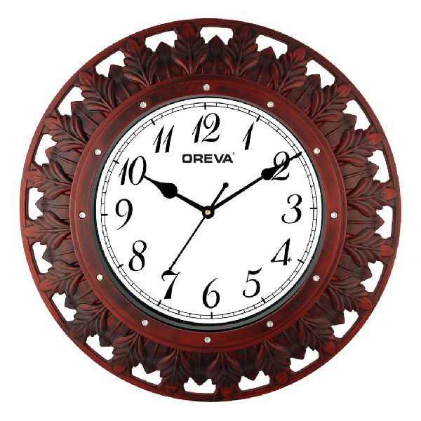 AQ 6577 SS Fancy Analog Clock